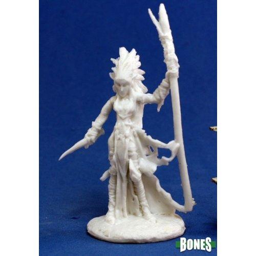 Reaper Miniatures BONES: LIELA, DARK ELF WIZARD