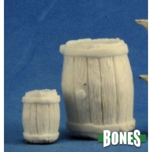 Reaper Miniatures BONES: LARGE BARREL & SMALL BARREL