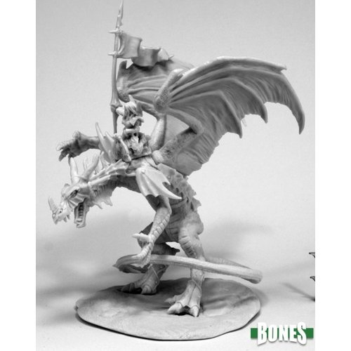 Reaper Miniatures BONES: KYRA &LAVARATH (DRAGON & RIDER)