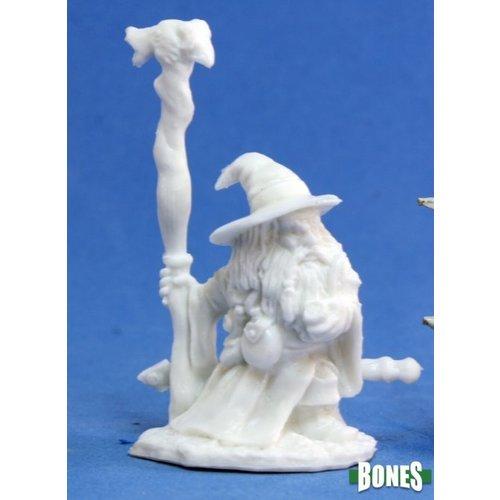 Reaper Miniatures BONES: KHAEL STONEKINDLE, DWARF WIZARD