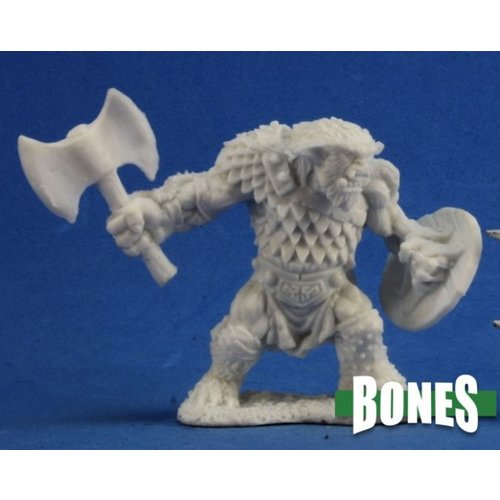 Reaper Miniatures BONES: KEGG BUGBEAR AXE