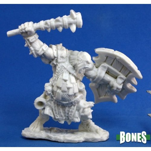 Reaper Miniatures BONES: KAGUNK OGRE CHIEFTAIN