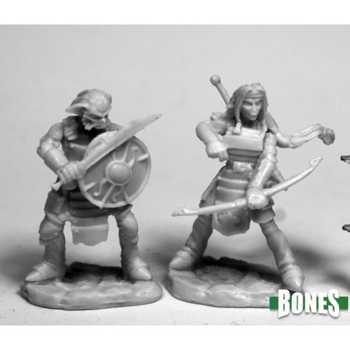 Reaper Miniatures BONES: HOBGOBLIN WARRIORS (2)
