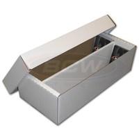 CARDBOARD BOX: 1600 COUNT