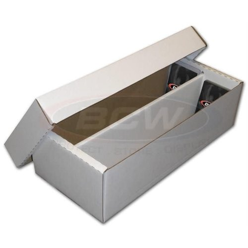 BCW Diversified CARDBOARD BOX: 1600 COUNT