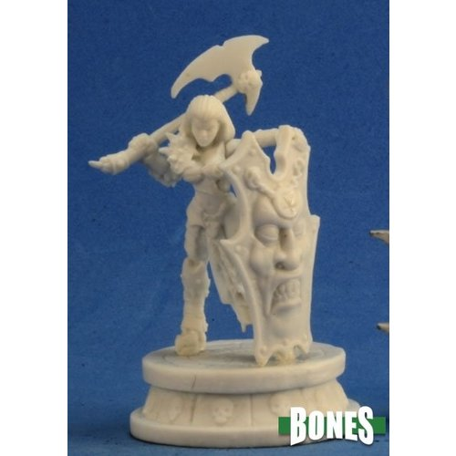 Reaper Miniatures BONES: FEMALE ANTIPALADIN