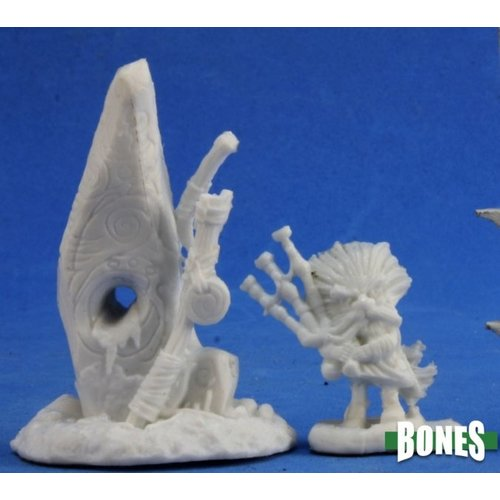 Reaper Miniatures BONES: FAMILIAR & STONE