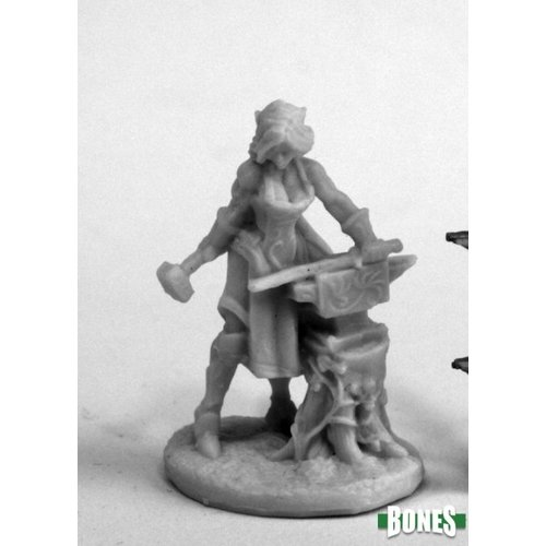 Reaper Miniatures BONES: ELVEN BLACKSMITH