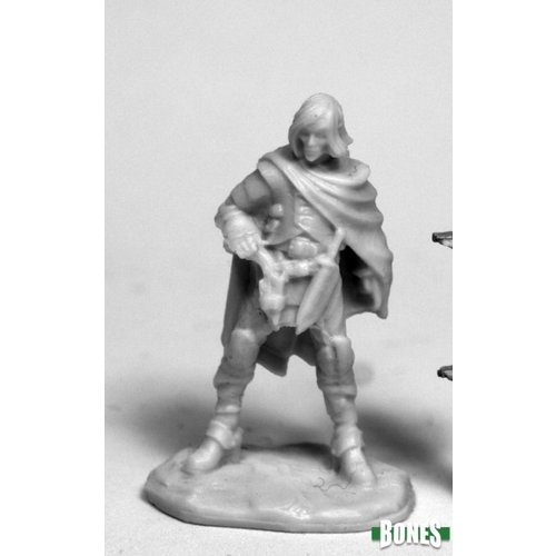 Reaper Miniatures BONES: ELTHIN BLUESTEEL, GUNSLINGER