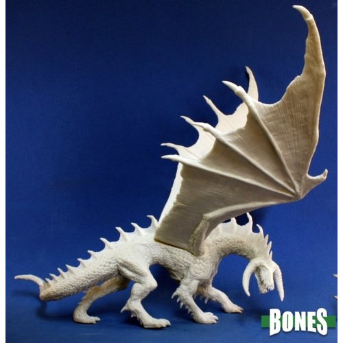 Reaper Miniatures BONES: EBONWRATH DRAGON