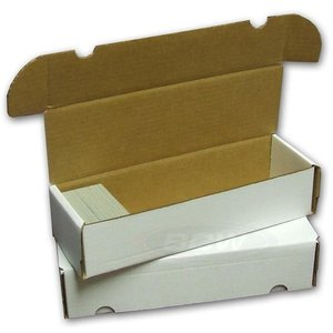 BCW Diversified CARDBOARD BOX: 660 COUNT