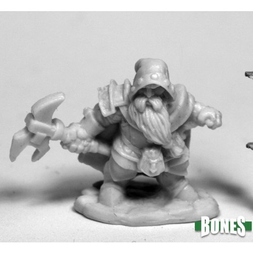 Reaper Miniatures BONES: DUROK, DWARF RANGER