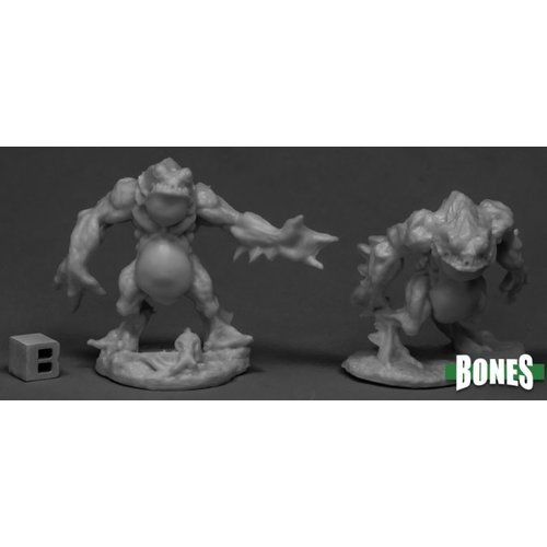 Reaper Miniatures BONES: DEEP ONES WARRIORS (2)