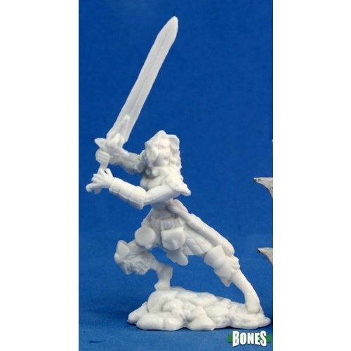 Reaper Miniatures BONES: DEENAH FEMALE BARBARIAN