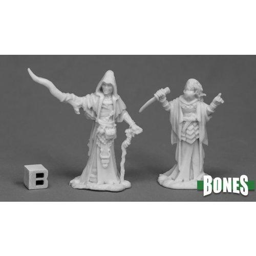 Reaper Miniatures BONES: CULTIST PRIESTS (2)