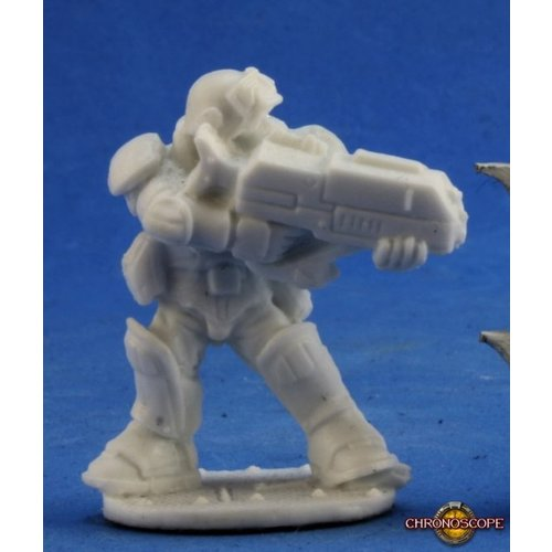 Reaper Miniatures BONES: CHRONOSCOPE: SLYDER IMEF TROOPER