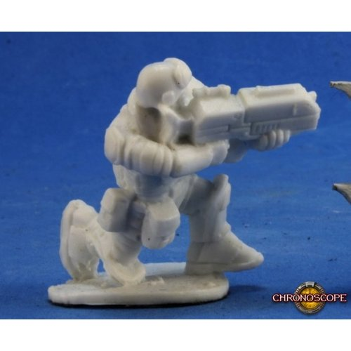 Reaper Miniatures BONES: CHRONOSCOPE: SKIDS IMEF TROOPER