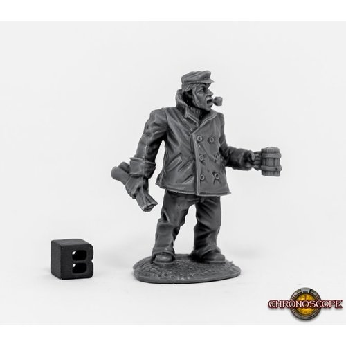 Reaper Miniatures BONES: CHRONOSCOPE: SHIP CAPTAIN