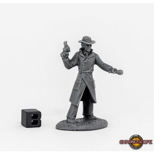 Reaper Miniatures BONES: CHRONOSCOPE: MAX GRAVES, PULP ERA INVESTIGATOR