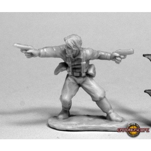 Reaper Miniatures BONES: CHRONOSCOPE: JAKE RYAN, HERO EXPLORER