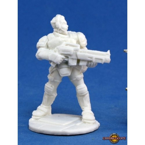 Reaper Miniatures BONES: CHRONOSCOPE: GARVIN MARKUS NOVA CORP HERO