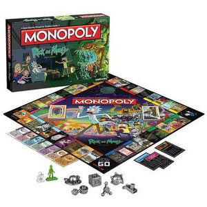 USAopoly MONOPOLY: RICK AND MORTY