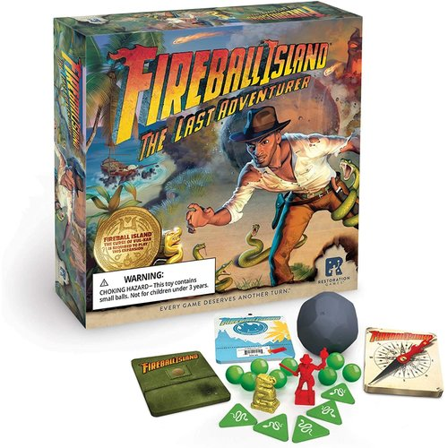 Restoration Games FIREBALL ISLAND: LAST ADVENTURER