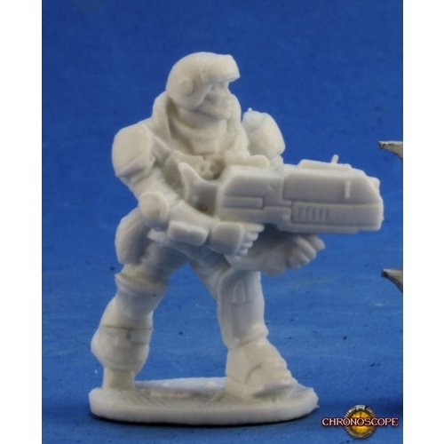 Reaper Miniatures BONES: CHRONOSCOPE: AZTEC IMEF TROOPER