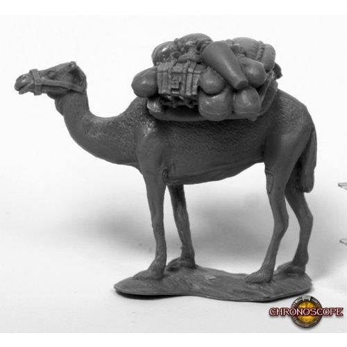 Reaper Miniatures BONES: CAMEL W/PACK