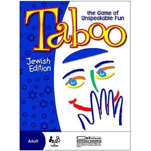 JEWISH EDUCATIONAL TOYS TABOO JEWISH ED