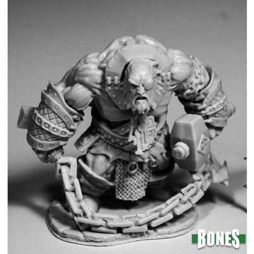 Reaper Miniatures BONES: BULFERG, FIRE GIANT JAILOR