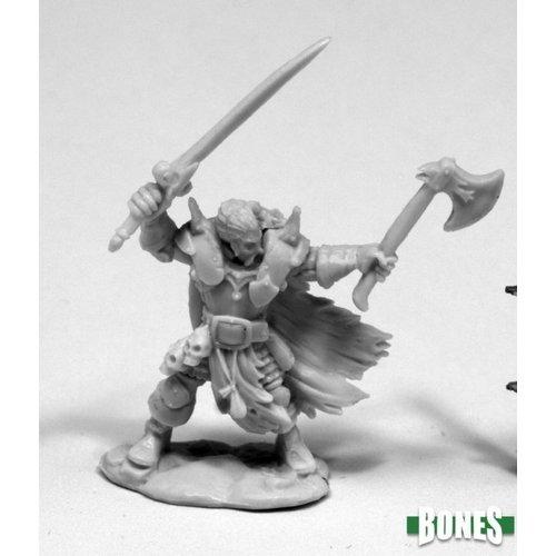 Reaper Miniatures BONES: BORIS MINGLA, EVIL WARLORD