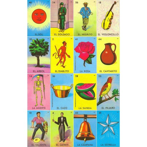 Don Clemente LOTERIA MEXICANA