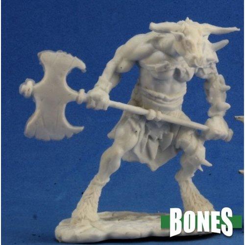 Reaper Miniatures BONES: BLODDHOOF, MINOTAUR BARBARIAN