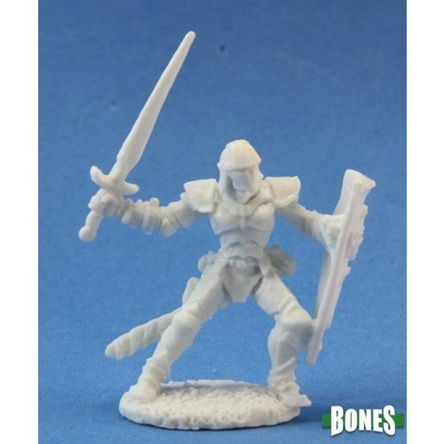 Reaper Miniatures BONES: BARNABAS HUMAN WARRIOR