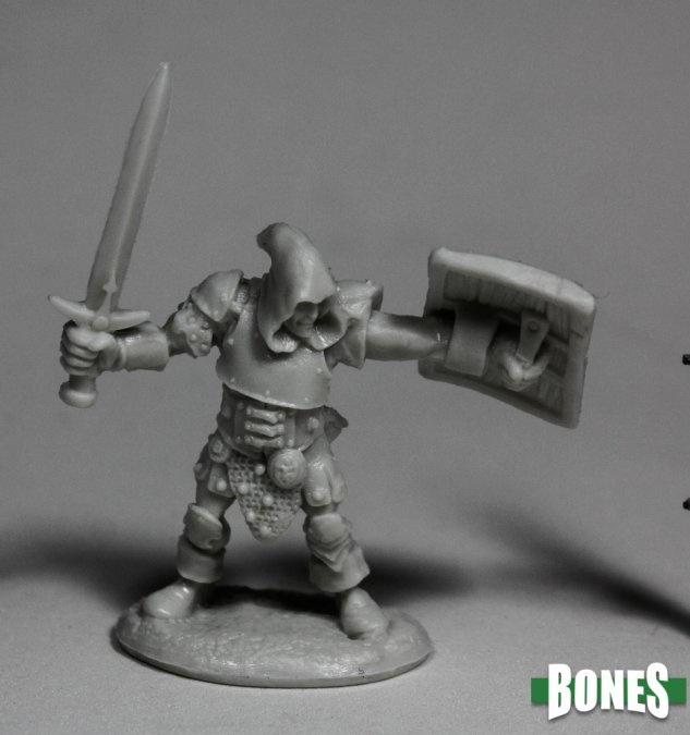Reaper Miniatures BONES: BANDIT LEADER