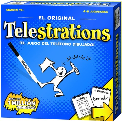 The Op | usaopoly TELESTRATIONS SPANISH