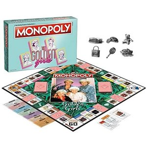 USAopoly MONOPOLY: GOLDEN GIRLS