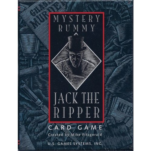 US GAMES SYSTEMS MYSTERY RUMMY JACK RIPPER