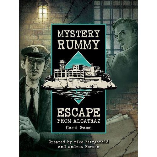 US GAMES SYSTEMS MYSTERY RUMMY: ESCAPE FROM ALCATRAZ