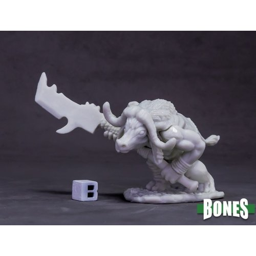 Reaper Miniatures BONES: AVATAR OF PROTECTION - WATER BUFFALO