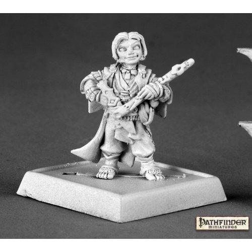 Reaper Miniatures LEM ICONIC HALFLING BARD