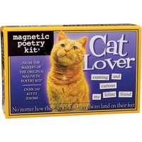 MAGNETIC POETRY CAT LOVER