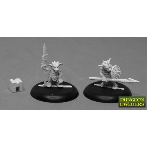 Reaper Miniatures KOBOLD SPEARMEN (2)
