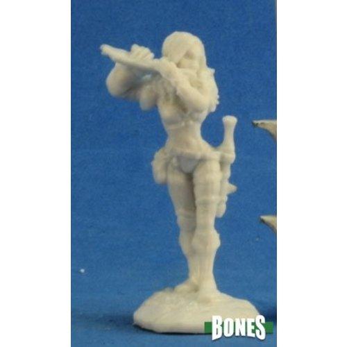 Reaper Miniatures BONES: ANWYN, FEMALE BARD