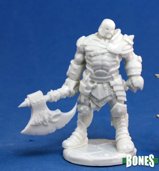 Reaper Miniatures BONES: ANVAL THRICEDAMNED EVI