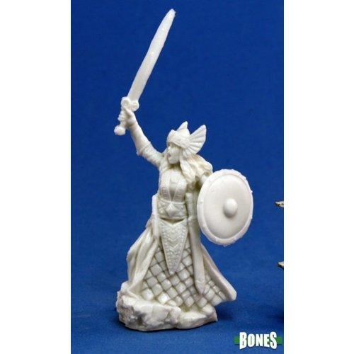 Reaper Miniatures BONES: AINA FEMALE VALKYRIE