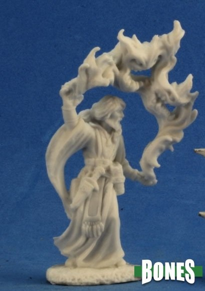 Reaper Miniatures BONES: AARON WIZARD