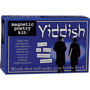 MAGNETIC POETRY MAGNETIC POETRY YIDDISH