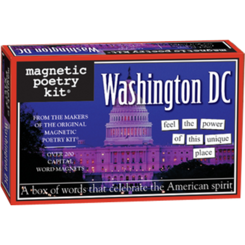 MAGNETIC POETRY MAGNETIC POETRY WASHINGTON DC